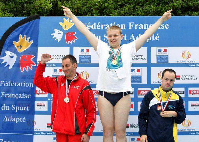 Orsay championnat de France natation FFSA, Orsay